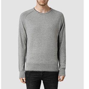 All Saints Torr crew grey sweater S C7